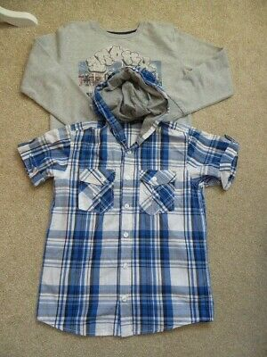 Boys George Top and Matalan Jumper Bundle Age 10-11 Years