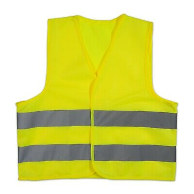 Kids Childrens 9-11 Years Hi Vis Vest High Visibility Waistcoat Road Safety
