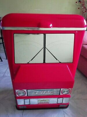 Nevera cocacola MUY RARA,100%americana Ice cold truck Dynamic ribbon divice 92'