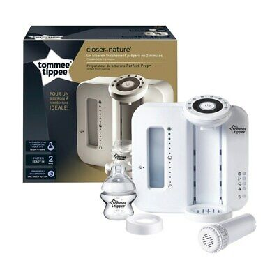 Tommee Tippee Closer to Nature Bottle Prep Machine White Brand New