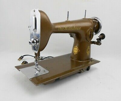Vintage FREE-WESTINGHOUSE 1930's Style 956228-E Sewing Machine Tested! -9