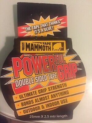 Everbuild Mammoth Powerful Grip Double sided tape 25mm x 2.5m