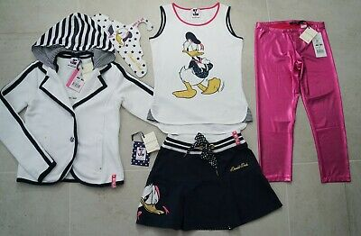 Monnalisa Ny&Lon Donald Duck 4 Piece Nautical Outfit *13 Yrs*£231*
