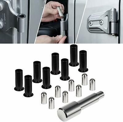 '07-Current Jeep Wrangler 4-Door Stainless Steel Hinge Pin Set Made in USA!