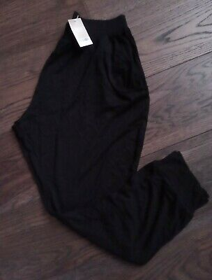 Girl's NEXT Black Harem Trousers AGE 15 YEARS