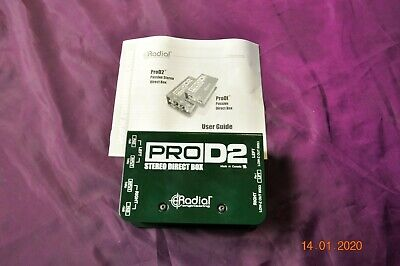 Radial ProD2 Dual Passive stereo Direct Box