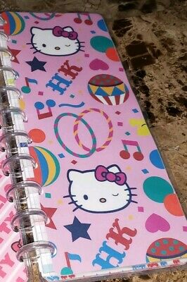 BIG Skinny Happy Planner with rings, note and weekly pages, 3 sets of HK covers