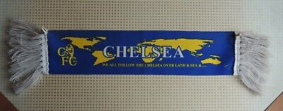 Chelsea F.C. football club badge crest official double car scarf schal