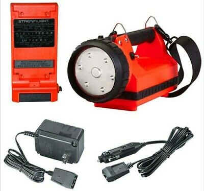 Streamlight E-Flood Firebox Standard System With AC & DC Chargers