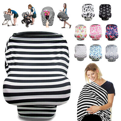 Breastfeeding Baby Nursing Cover Infant Stroller Car Seat Scarf Seat Canopy