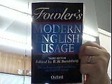 The New Fowlers Modern English Usage, R. Burchfield, Used; Good Book