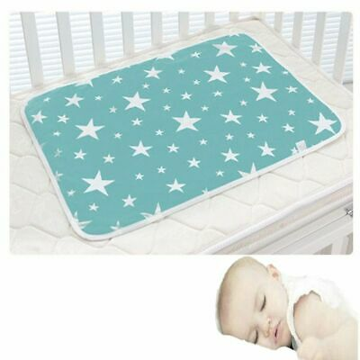 Useful Absorbent Cloth Mat Towel Diaper Changing  Cover Nappy Urine Pad