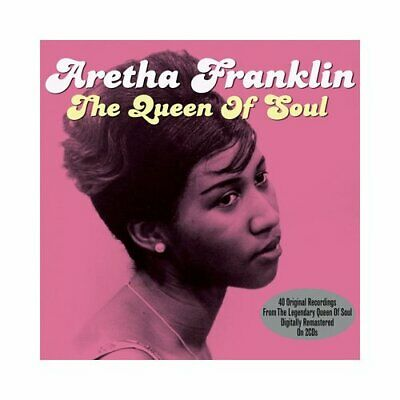 Aretha Franklin : The Queen of Soul CD 2 discs (2013) FREE Shipping, Save £s