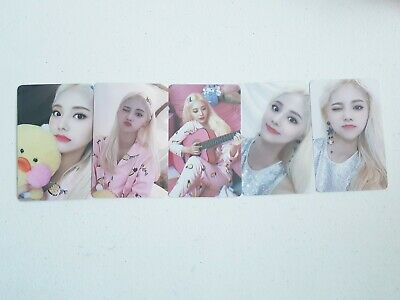 Monthly Girl JinSoul Limited Photocard SET - Official 2020 SEASON'S GREETINGS