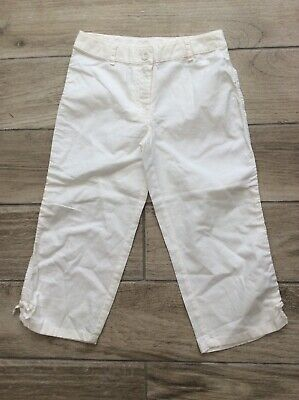 Girls Next Cropped Trousers Age 8 Years New With Tags