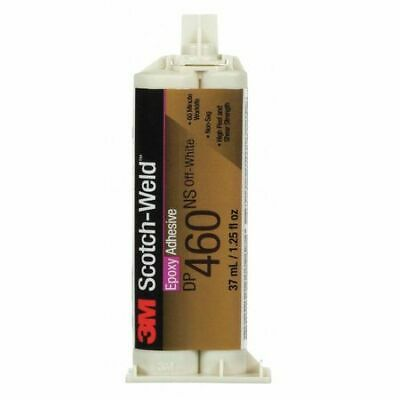 SCOTCH-WELD 460NS Epoxy Adhesive , Dual-Cartridge , 1.64 oz. , Off-White , 1 hr.