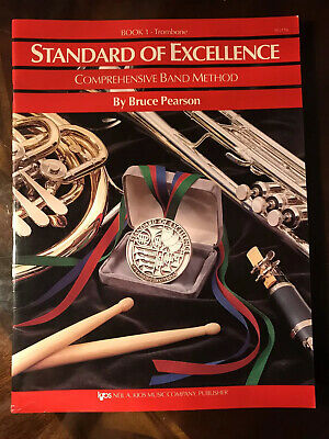 Book 1 Trombone Standard Of Excellence Comprehensive Band Method Pearson