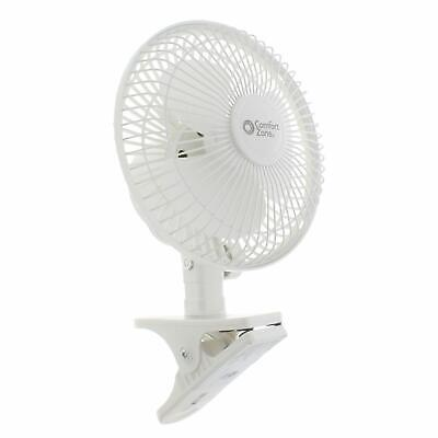 Clip On Mini Electric Portable Desk Cooling Fan USB Small Table 7Inch vo