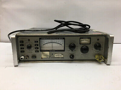 Wideband Phase Angle Voltmeter 321A 401321 North Atlantic