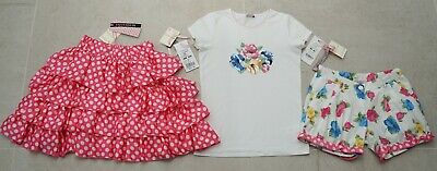 Monnalisa 'Smurfs' Mix & Match Floral Outfit *12 Yrs*£210*