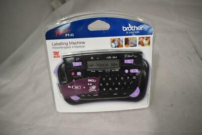 New Unopened Brother P-touch PT-80 Labelling  Machine