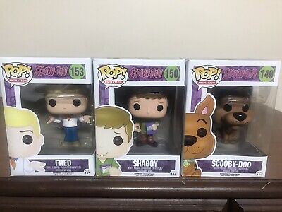 Scooby Doo Funko Pop Lot - 149 150 153- 3 Characters Total~ FREE SHIPPING