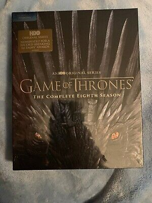 HBO Original GAME OF THRONES The Complete Season 8 Blu-ray + Digital