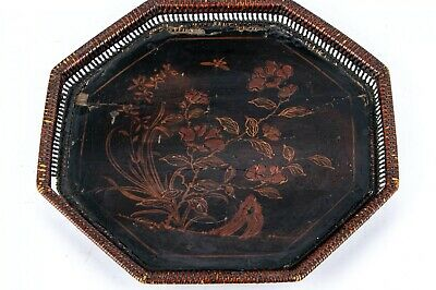 Antique Chinese Tray With Custom Wax Seal