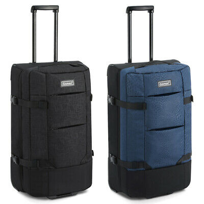 Nylon Luggage Bag Travel Suitcase High capacity Wheel Rolling  32inch 110L