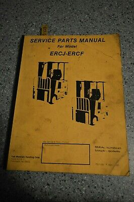 C-130 Yale Mcw 2000, 2500, 3000 & 4000 Lbs. Capacity Forklift Parts Manual