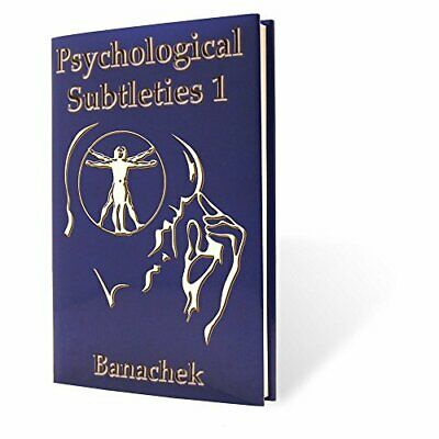 M&M's MMS Psychological Subtleties 1 (PS1) by Banachek Book Book The Fast Free