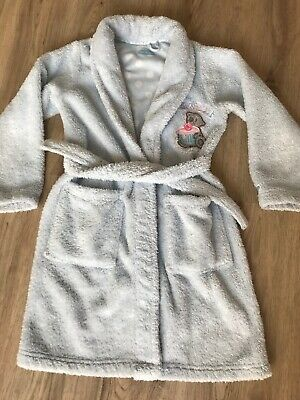 M & S Tatty Teddy Me To You Age  7-8 Girls Fleecy Hooded Dressing Gown