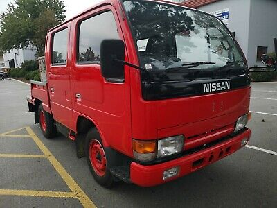 Nissan: Other NISSAN ATLAS EX FIRE TRUCK LOW KMS,   Completely Rust Free