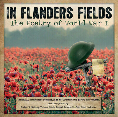 On Flanders Fields: The Poetry of World War I CD (2014) FREE Shipping, Save £s