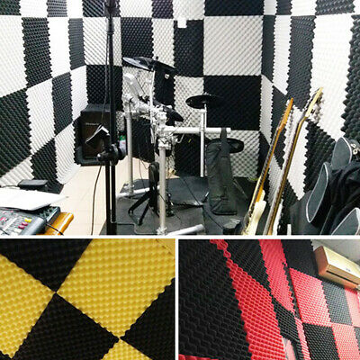30X30CM Acoustic Panels Tiles Sound Proofing Insulation Close Foam Panels