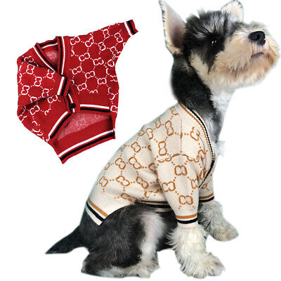 Pet Dog Clothes Winter Warm Sweater Decor New Windproof Coat For Small Dog Cat