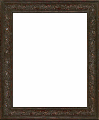 Early 20th Century Picture Frame - Carved Solid Oak Frame