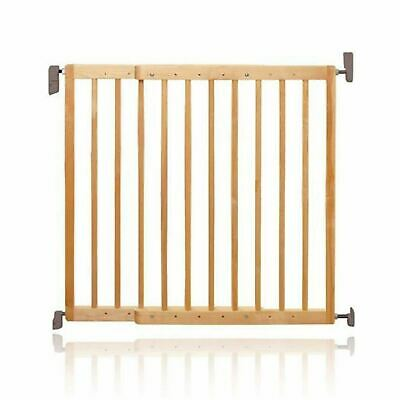 Lindam EXTENDING WOODEN GATE Baby Child Proofing BN