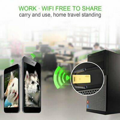1200Mbps 2.4G/5.8GHz Dual Band 802.11ac Wireless USB 3.0 WIFI Adapter Antenna EM
