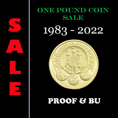 **SALE** £1 One Pound Coin Hunt | PROOF & BU Only | Select 1983-2020 | **SALE**