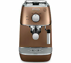 De'Longhi ECI341.CP Distinta Ground & Pod Coffee Machine Maker 1100W 1L - Copper