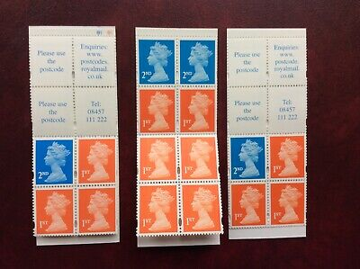 12 x Royal Mail 1st First Class Stamps- 4 x 2nd Class in Booklets