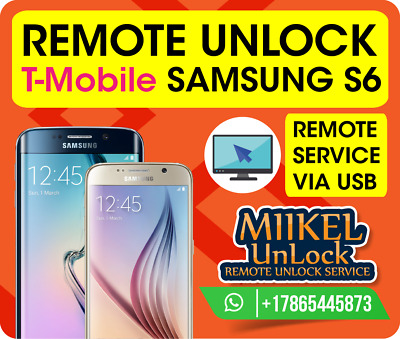 Remote Unlock Service Samsung S6 G920T / G925T / G928T / T-Mobile / MetroPCS 🔥