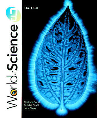 World of science 3 by Graham Booth (Paperback / softback) FREE Shipping, Save £s
