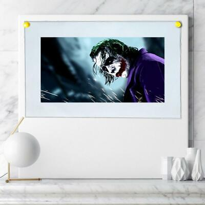 "8""x14""DC Batman Joker Paintings HD Print on Canvas Home Decor Wall Art Picture"