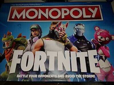 Monopoly Fortnite Edition Board Game Perfect Family Party Game