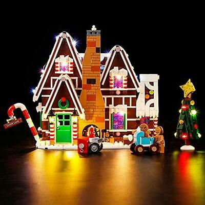 Vonado Led Lighting Kit for Gingerbread House 10267 Building Kit,Compatible with