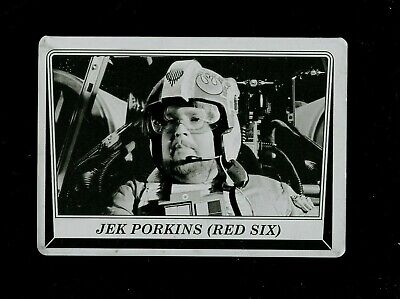 Star Wars Journey to Rogue One Printing Plate #91 JEK PORKINS RED SIX 1/1