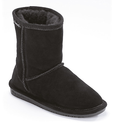 Kids Bearpaw Emma Youth Boot 608Y Hickory II Suede 100/% Authentic Brand New