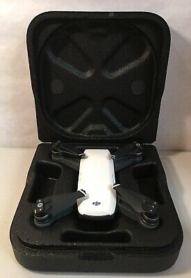 DJI Spark Drone Alpine White Untested As Is Read